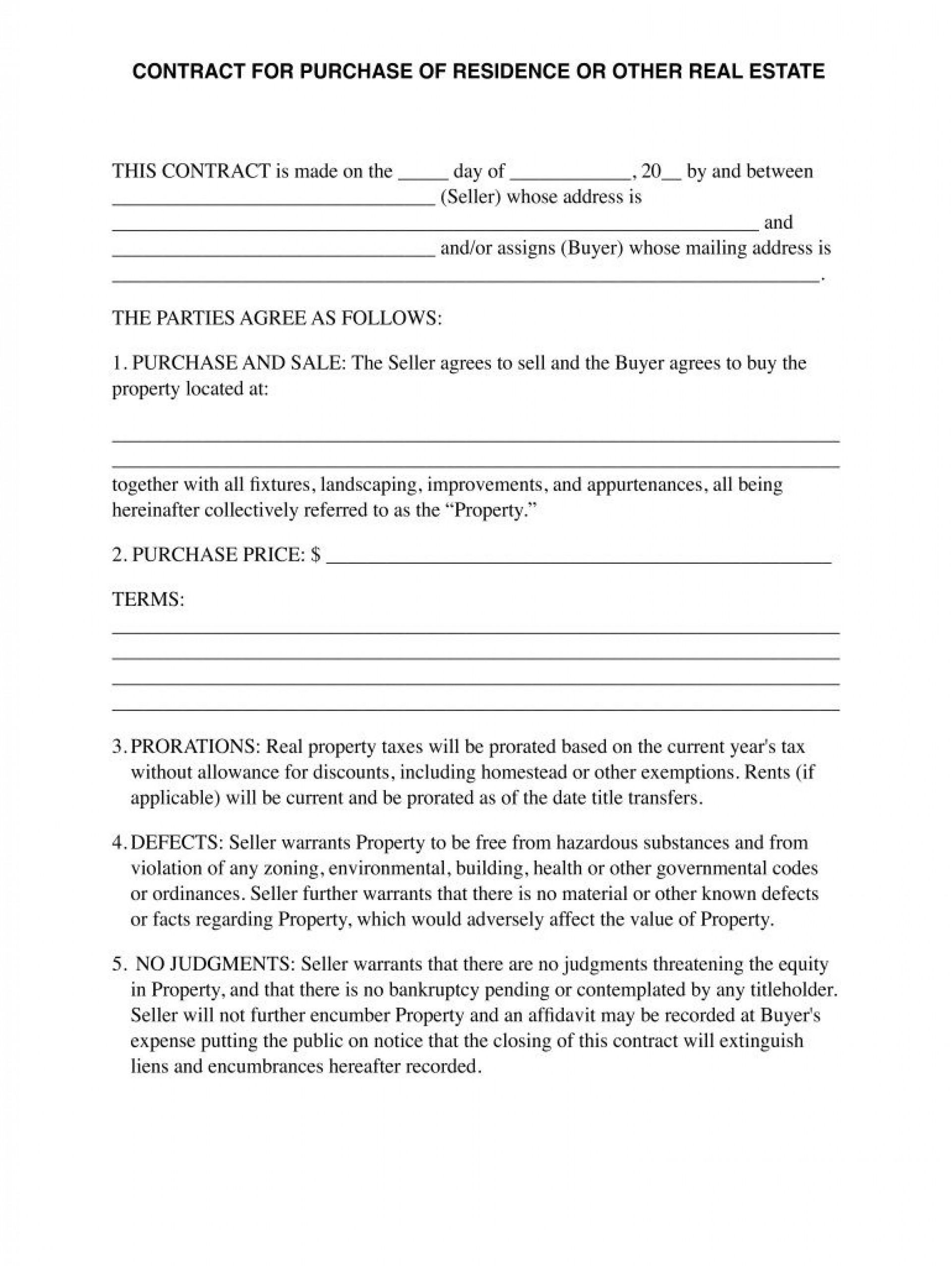 007 Astounding Property Purchase Agreement Template Uk Concept 1920