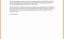 007 Astounding Resignation Letter Template Word Highest Clarity  Malaysia Uk