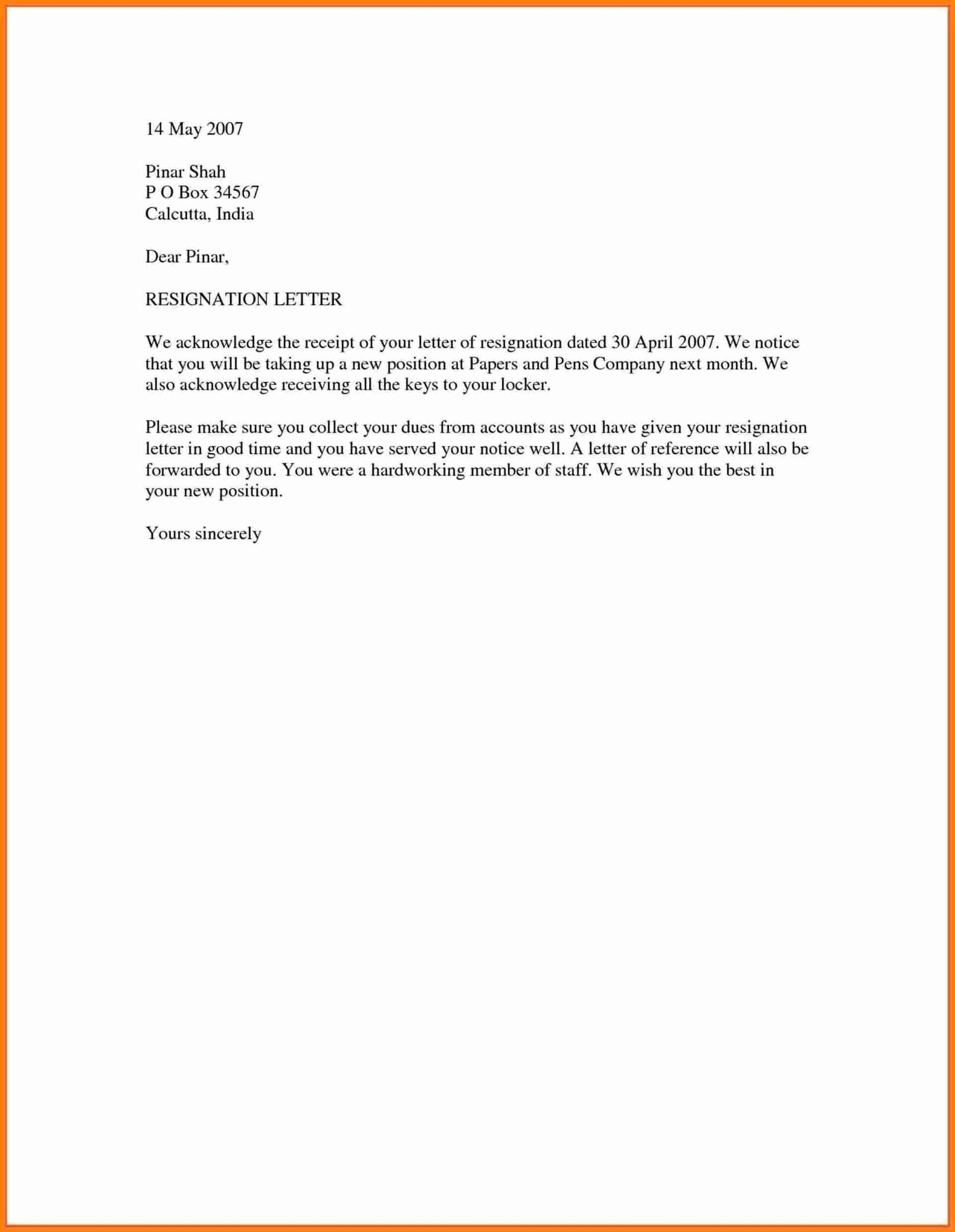 Resignation Letter Template Word Doc from www.addictionary.org
