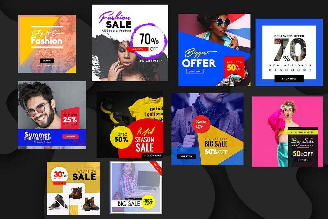 007 Astounding Social Media Banner Template Free Picture Full