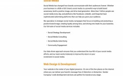 007 Astounding Social Media Proposal Format Concept  Marketing Example Plan