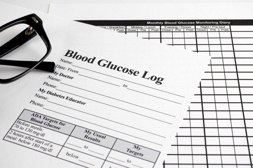 007 Awesome Blood Glucose Log Template Highest Quality  Sugar Excel Book868