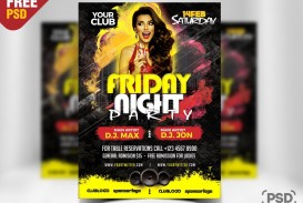 007 Awesome Free Party Flyer Template For Photoshop Inspiration  Pool Psd Download