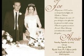 007 Awesome Free Printable 50th Wedding Anniversary Invitation Template Idea