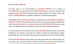 007 Awesome Letter Of Recommendation Template Word High Resolution  General Uk