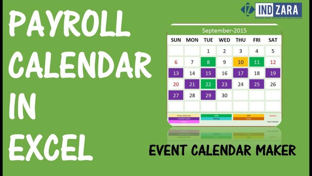 007 Awesome Payroll Calendar Template 2020 High Def  Biweekly Schedule Excel FreeLarge