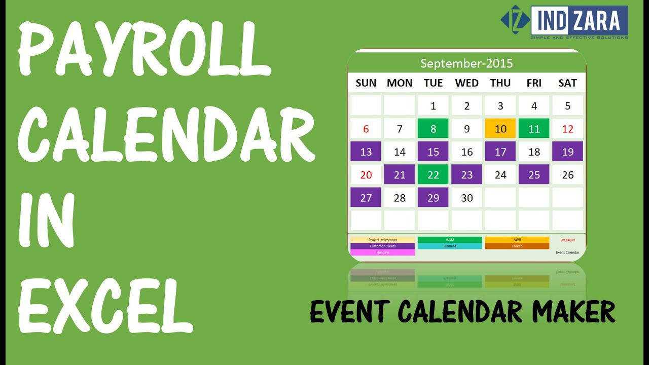007 Awesome Payroll Calendar Template 2020 High Def  Biweekly Schedule Excel FreeFull