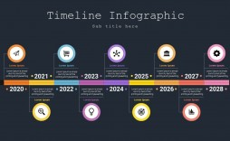 007 Awesome Powerpoint Timeline Template Free Download Example  Project History