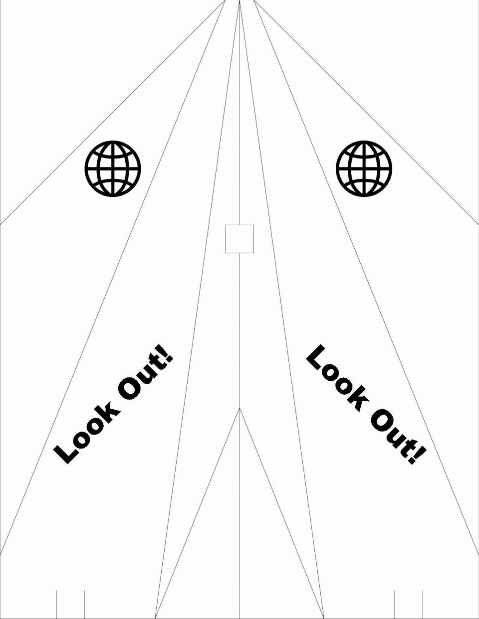 007 Awesome Printable Paper Airplane Design Highest Clarity  Free Instruction Pdf Simple A4 Plane960