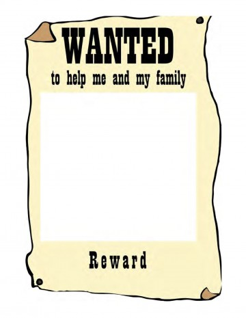 007 Awesome Wanted Poster Template Microsoft Word Highest Clarity  Western Most360