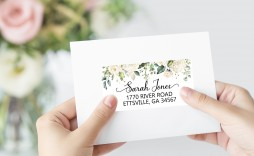 007 Awesome Wedding Addres Label Template Concept  Free Printable