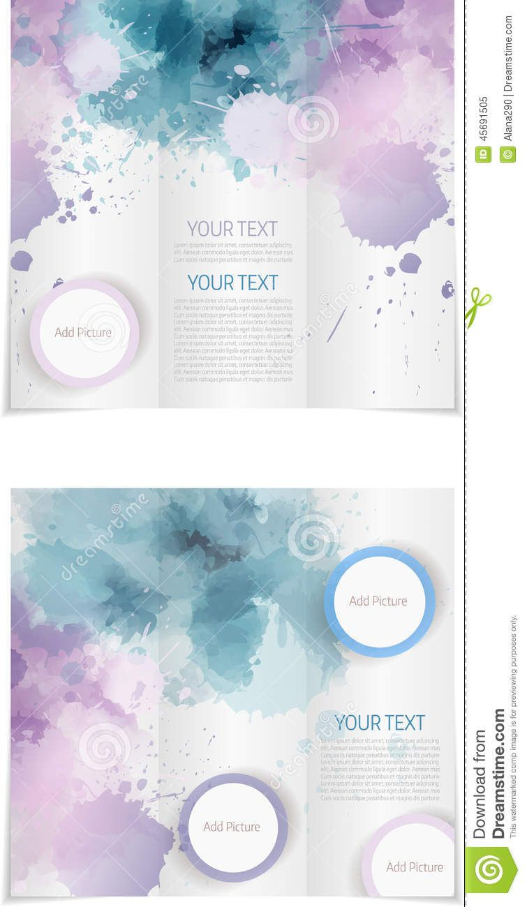 007 Awesome Word Tri Fold Brochure Template Photo  2010 Microsoft M OfficeFull