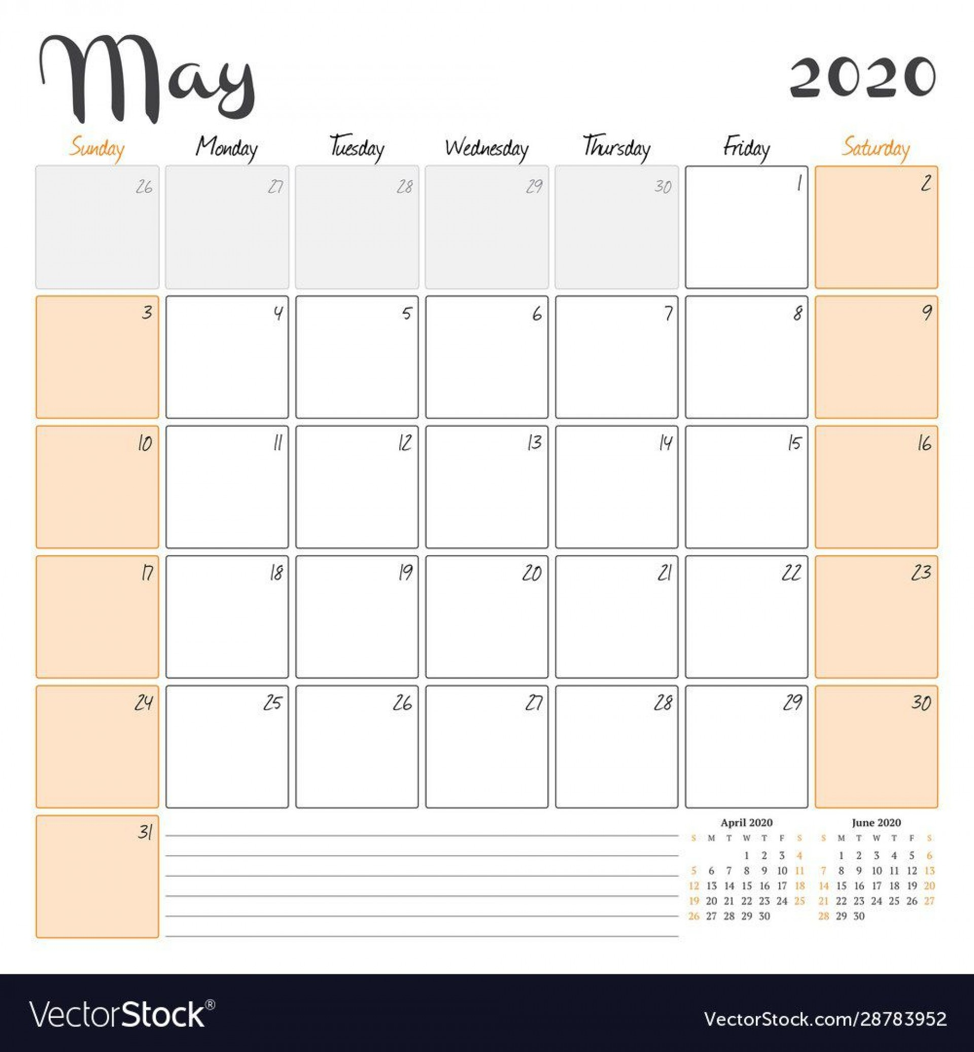 007 Awful 2020 Monthly Calendar Template Sample  Templates Word Australian Free1920