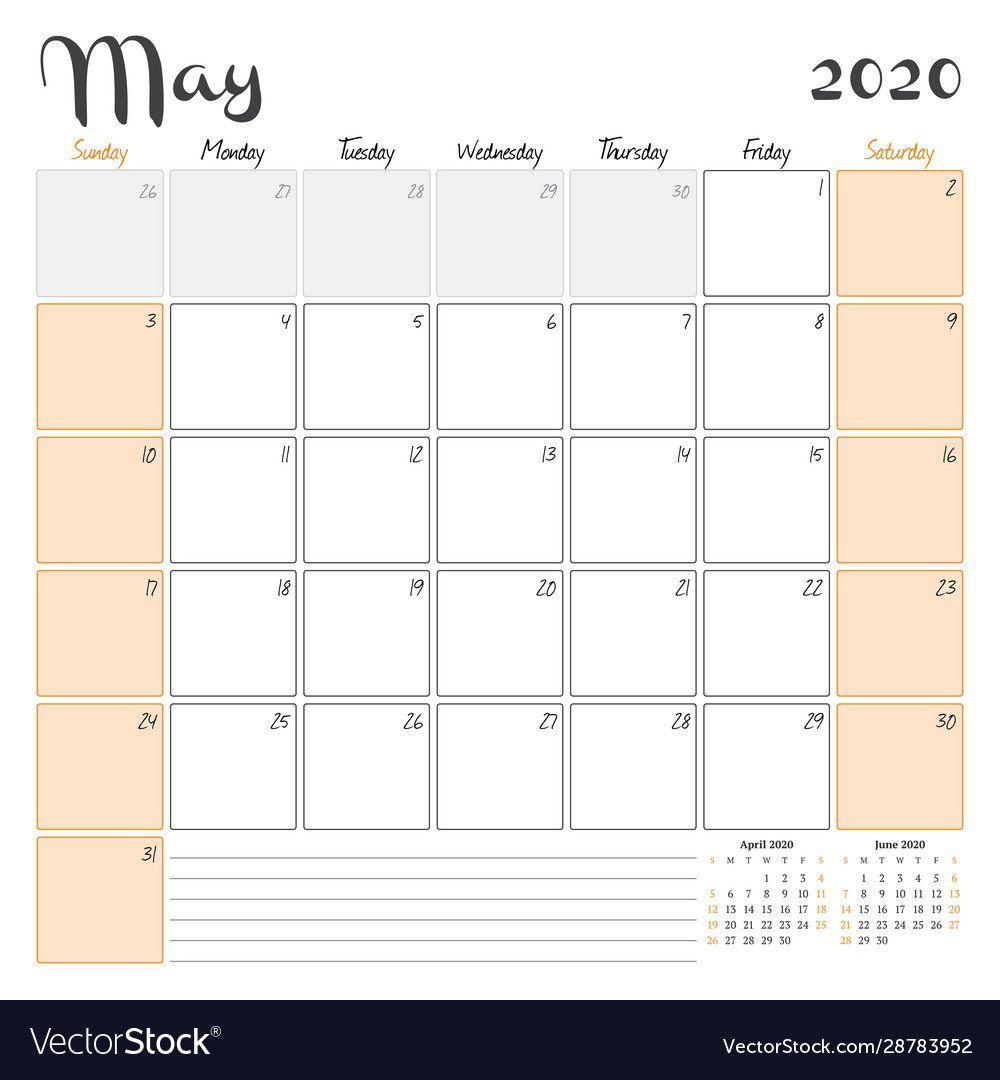 007 Awful 2020 Monthly Calendar Template Sample  Templates Word Australian FreeFull