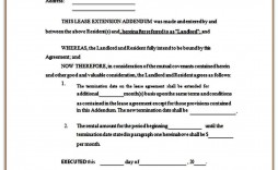 007 Awful Addendum Form For Rental Agreement Picture
