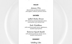 007 Awful Baby Shower Menu Template Idea  Templates Lunch Printable Downloadable