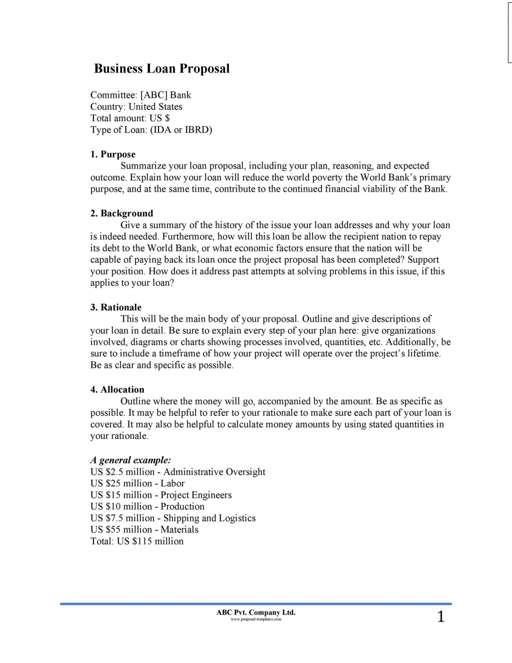 007 Awful Busines Proposal Letter Template High Resolution  Free DownloadLarge