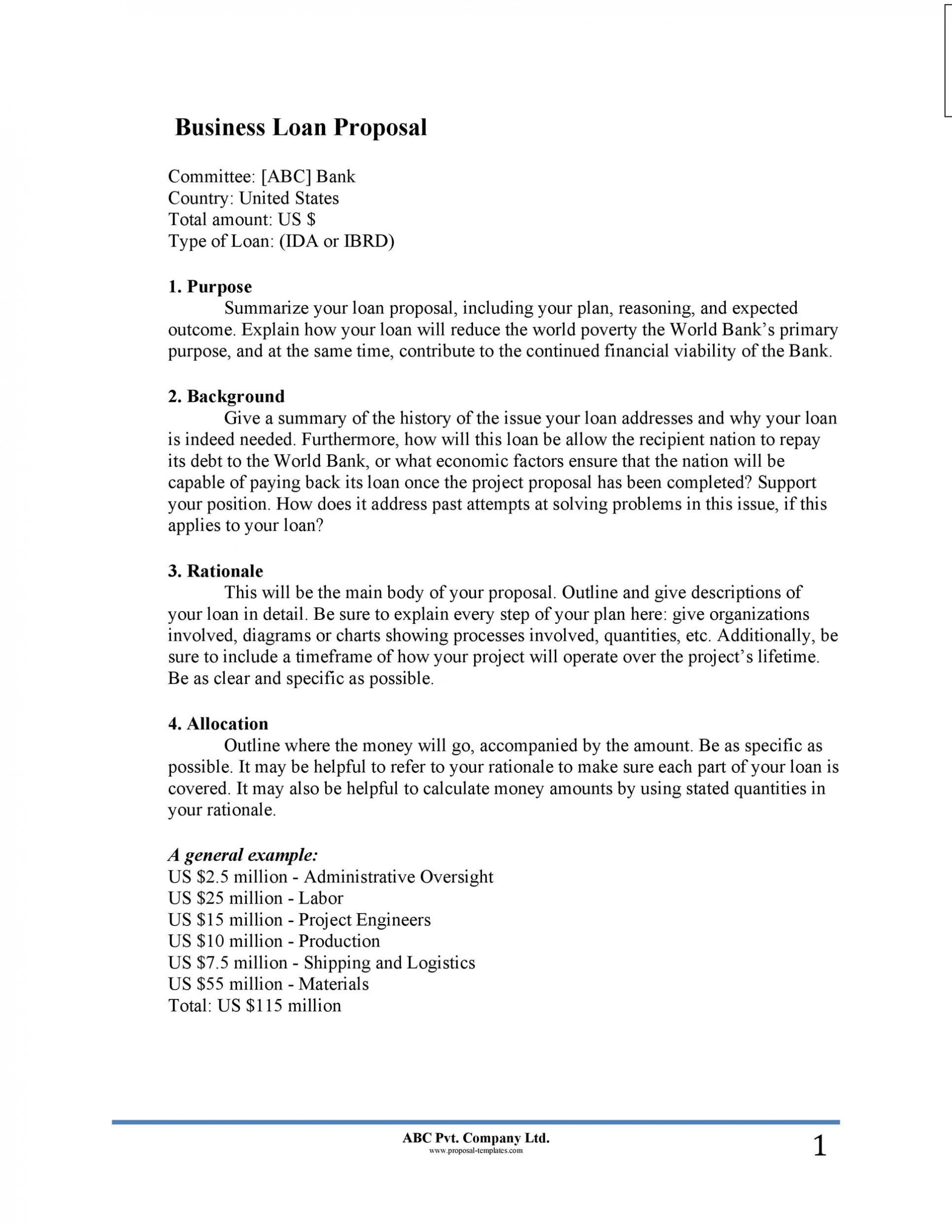 007 Awful Busines Proposal Letter Template High Resolution  Free Download1920