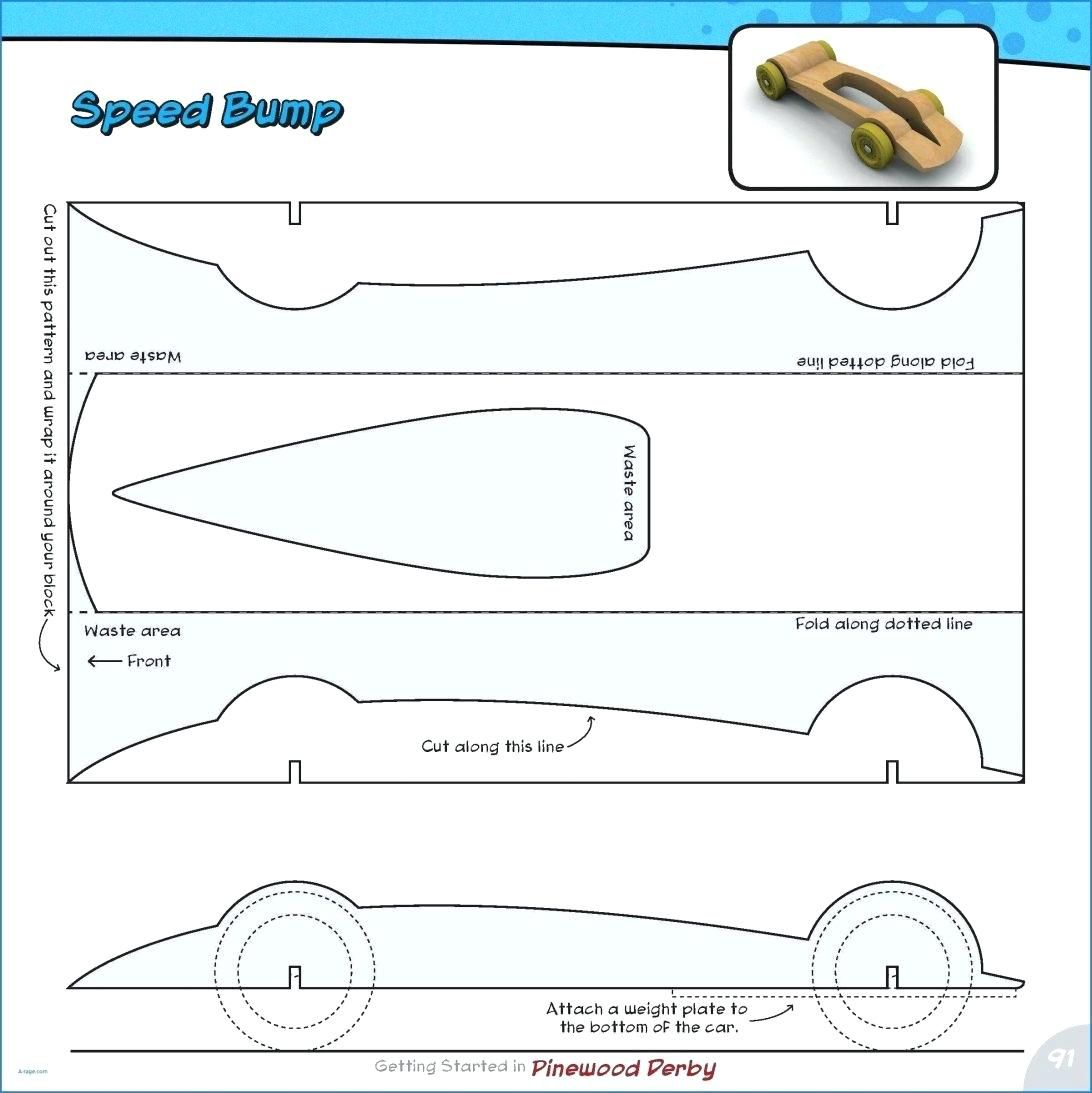 007 Awful Fastest Pinewood Derby Car Template Highest Clarity  Templates World DesignFull