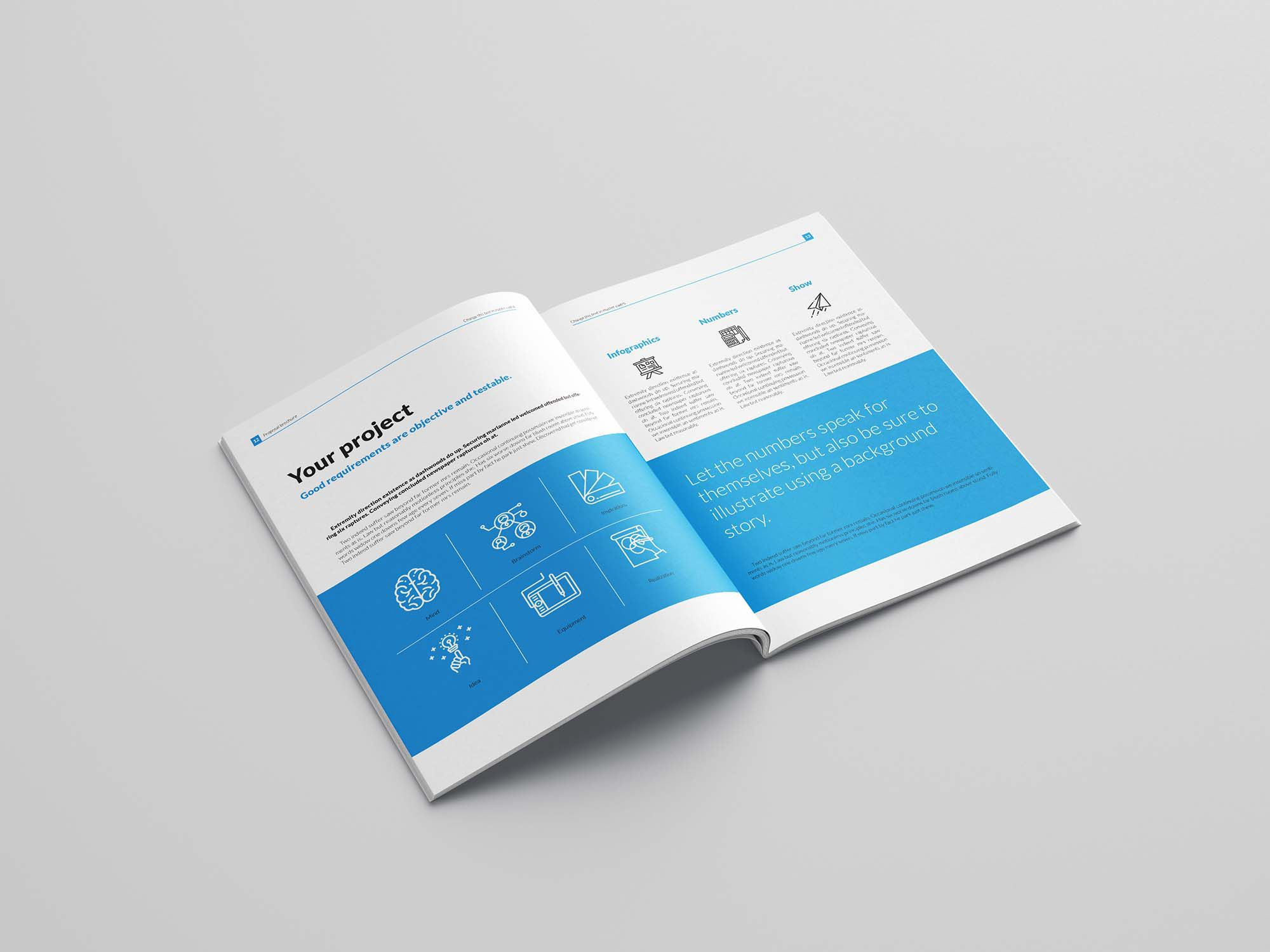 007 Awful Free Busines Proposal Template Indesign Concept Full