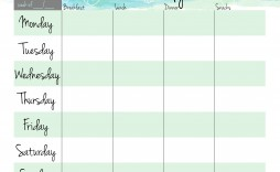 007 Awful Free Meal Planner Template Pdf Idea  Weekly With Grocery List Monthly