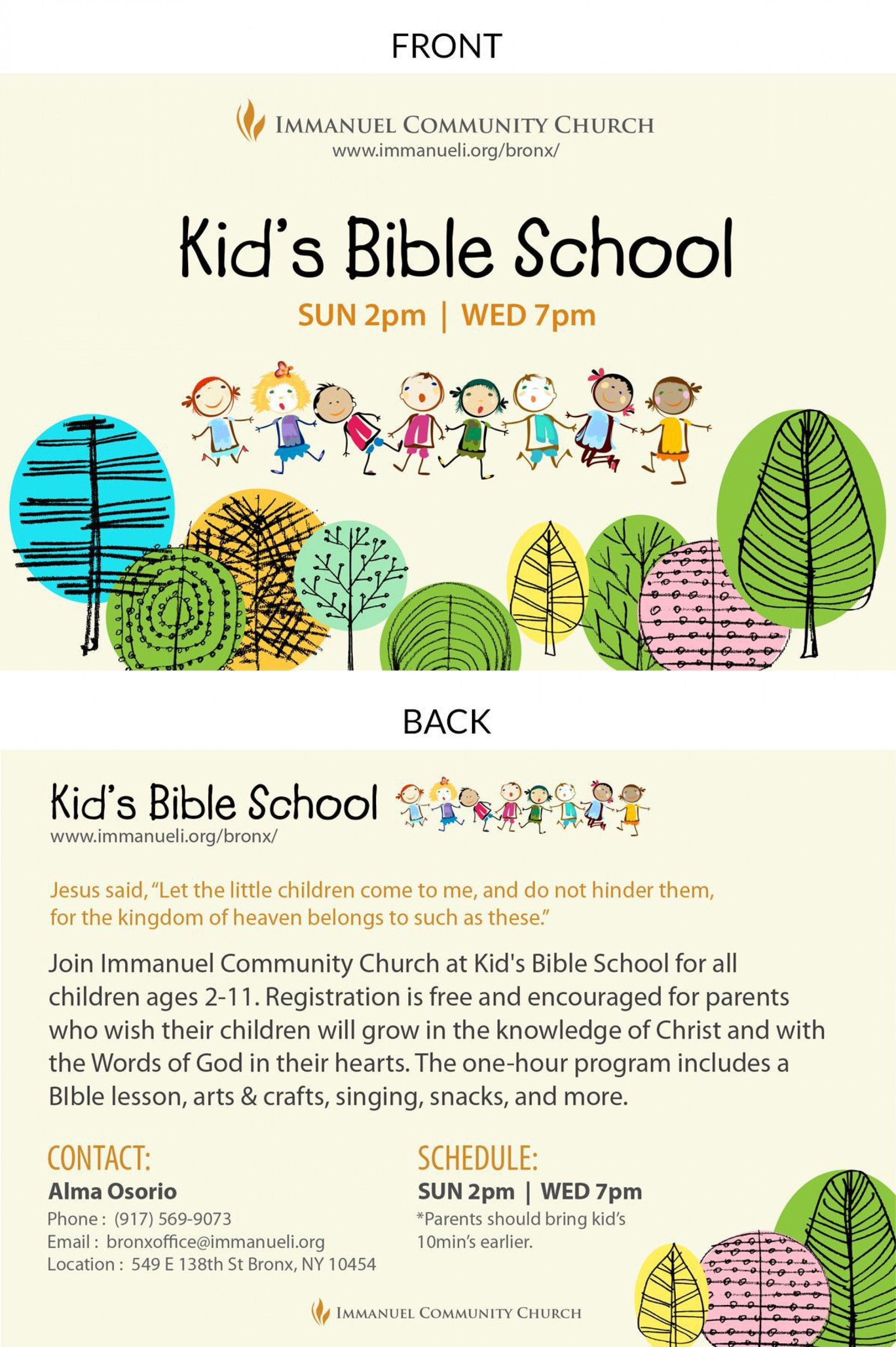 007 Awful Free Sunday School Flyer Template High Resolution  Templates1920