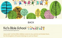 007 Awful Free Sunday School Flyer Template High Resolution  Templates