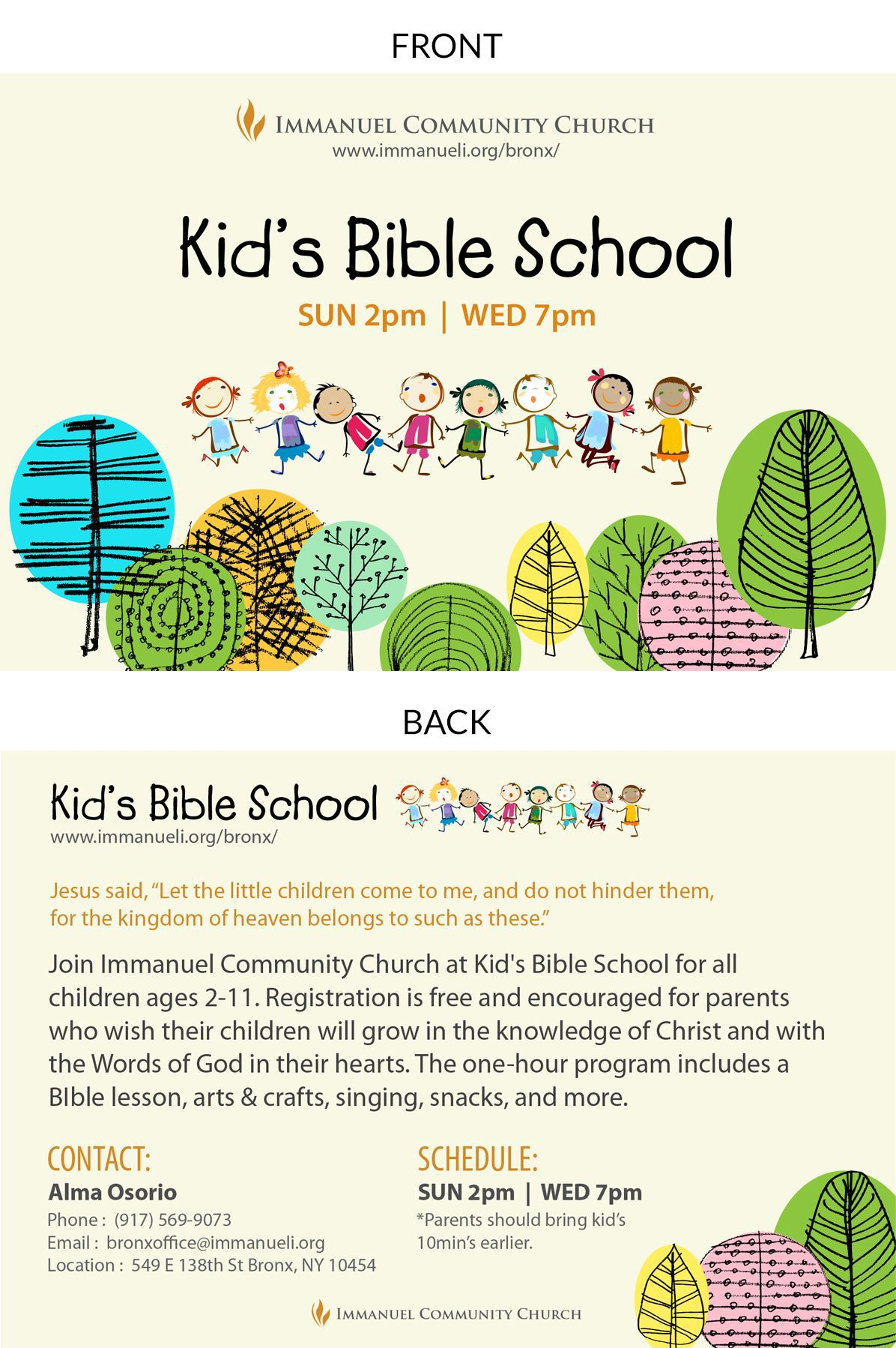 007 Awful Free Sunday School Flyer Template High Resolution  TemplatesFull