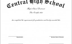 007 Awful Ged Certificate Template Download Photo  Free