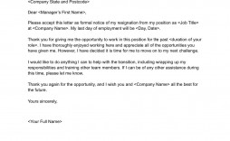 007 Awful Letter Of Resignation Template Free Design  Pdf Sample