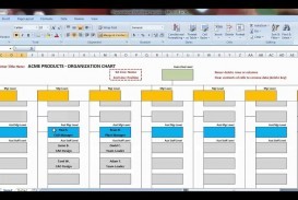 007 Awful Organizational Chart Template Excel Design  Free 2010