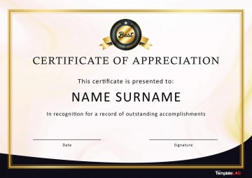 007 Awful Recognition Certificate Template Free Picture  Employee Award Of Download Word360