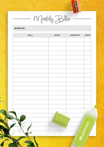 007 Awful Simple Weekly Budget Template Photo  Planner Personal Printable360