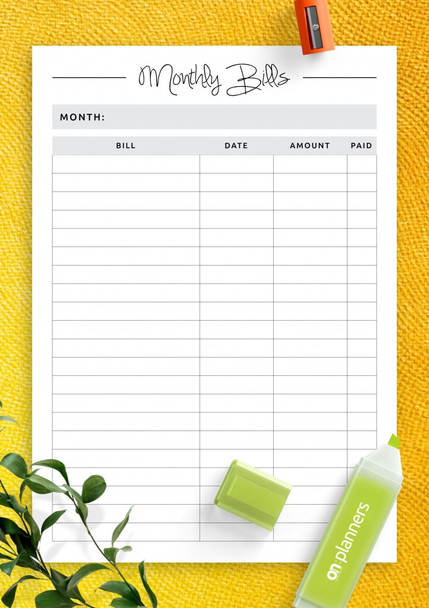 007 Awful Simple Weekly Budget Template Photo  Planner Personal Printable868