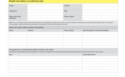 007 Awful Site Specific Safety Plan Template Picture  Construction Example Word Doc Nz