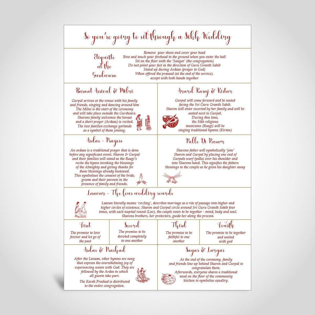 007 Awful Traditional Wedding Order Of Service Template Uk High Def Full
