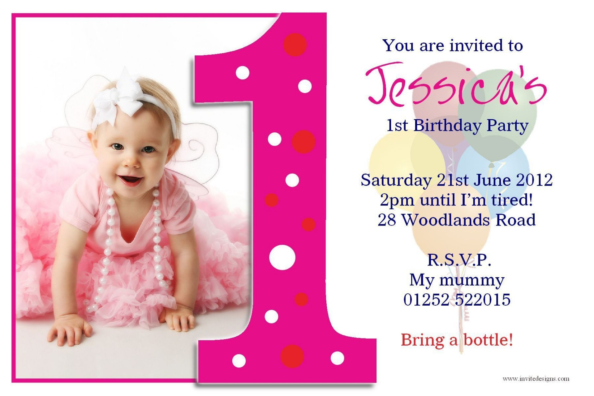007 Beautiful Birthday Invitation Wording Sample 5 Year Old Picture 1920