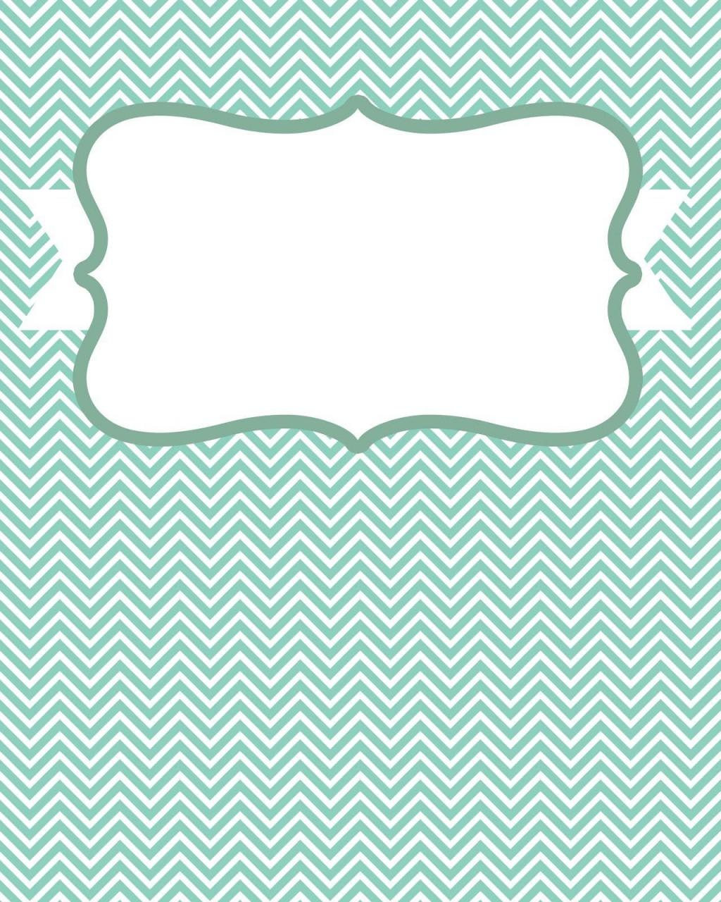 007 Beautiful Cute Binder Cover Template Free Printable Design Large