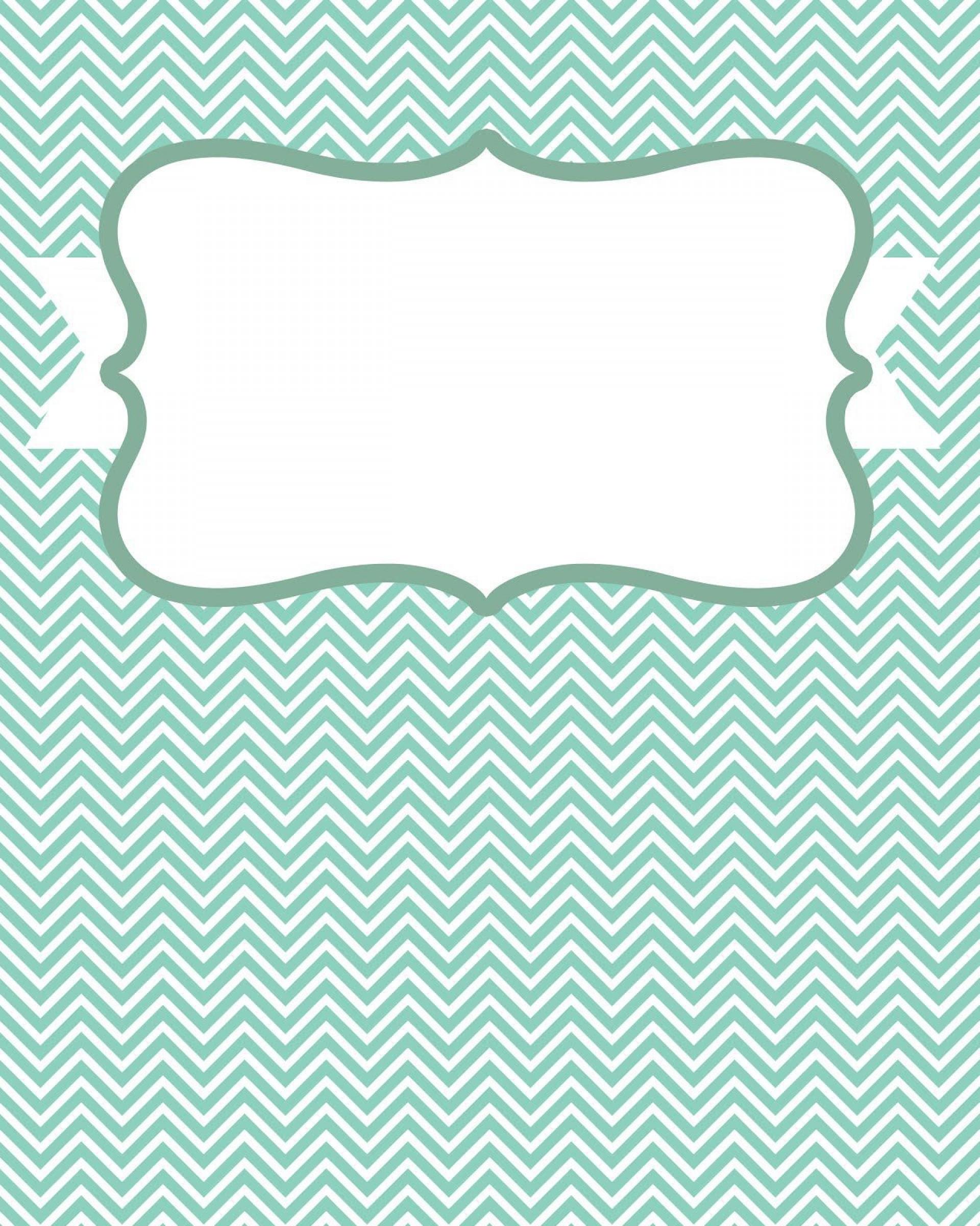 007 Beautiful Cute Binder Cover Template Free Printable Design 1920