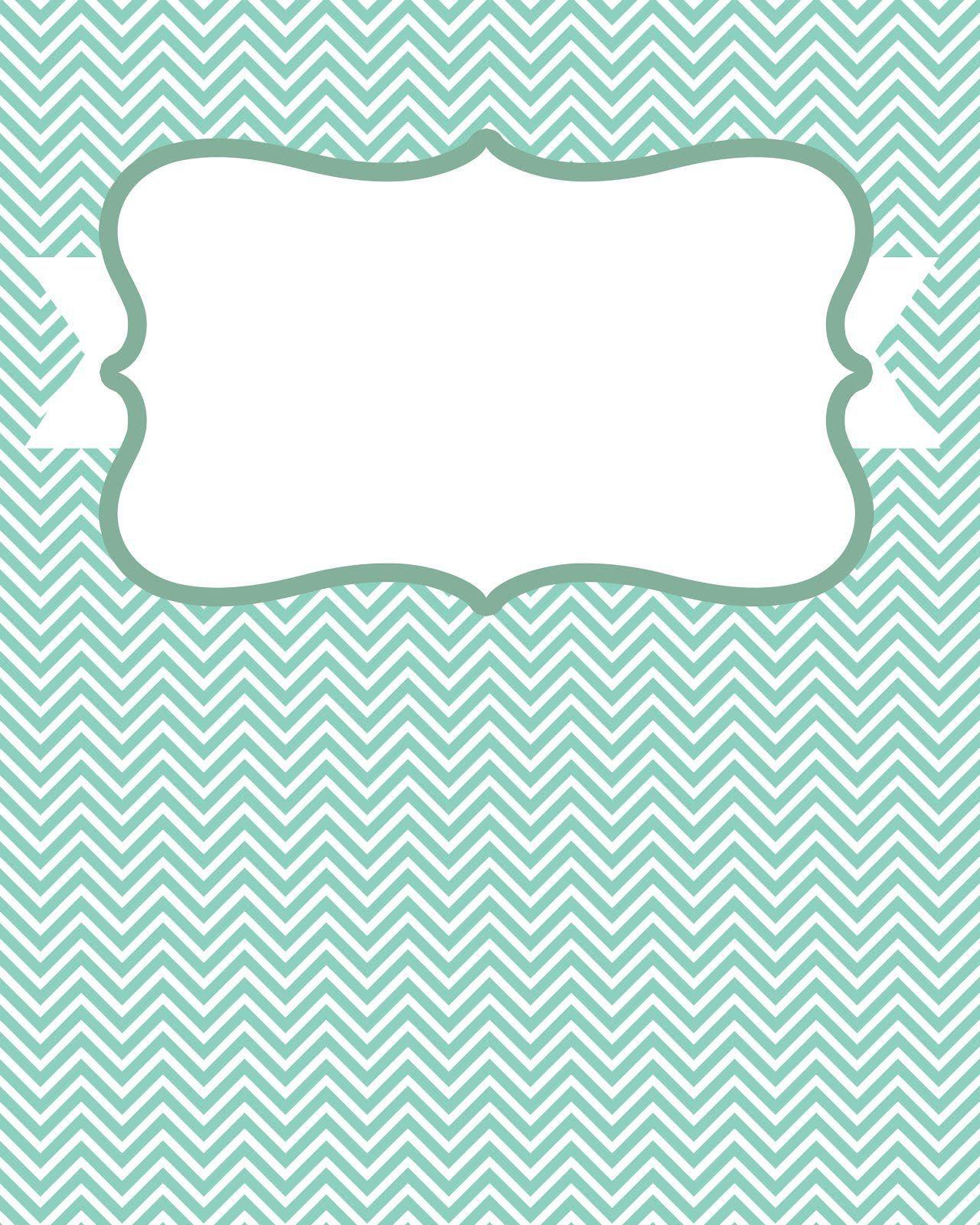 007 Beautiful Cute Binder Cover Template Free Printable Design Full