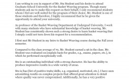 007 Beautiful Example Of Letter Recommendation For Graduate School From Employer Sample  Pdf Grad