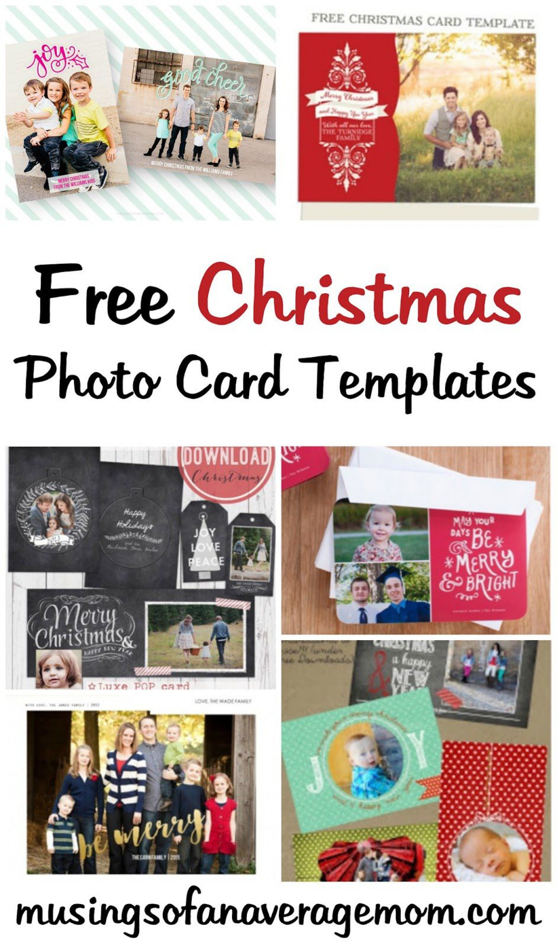 007 Beautiful Free Photo Christma Card Template Concept  Templates For Photoshop Online1920
