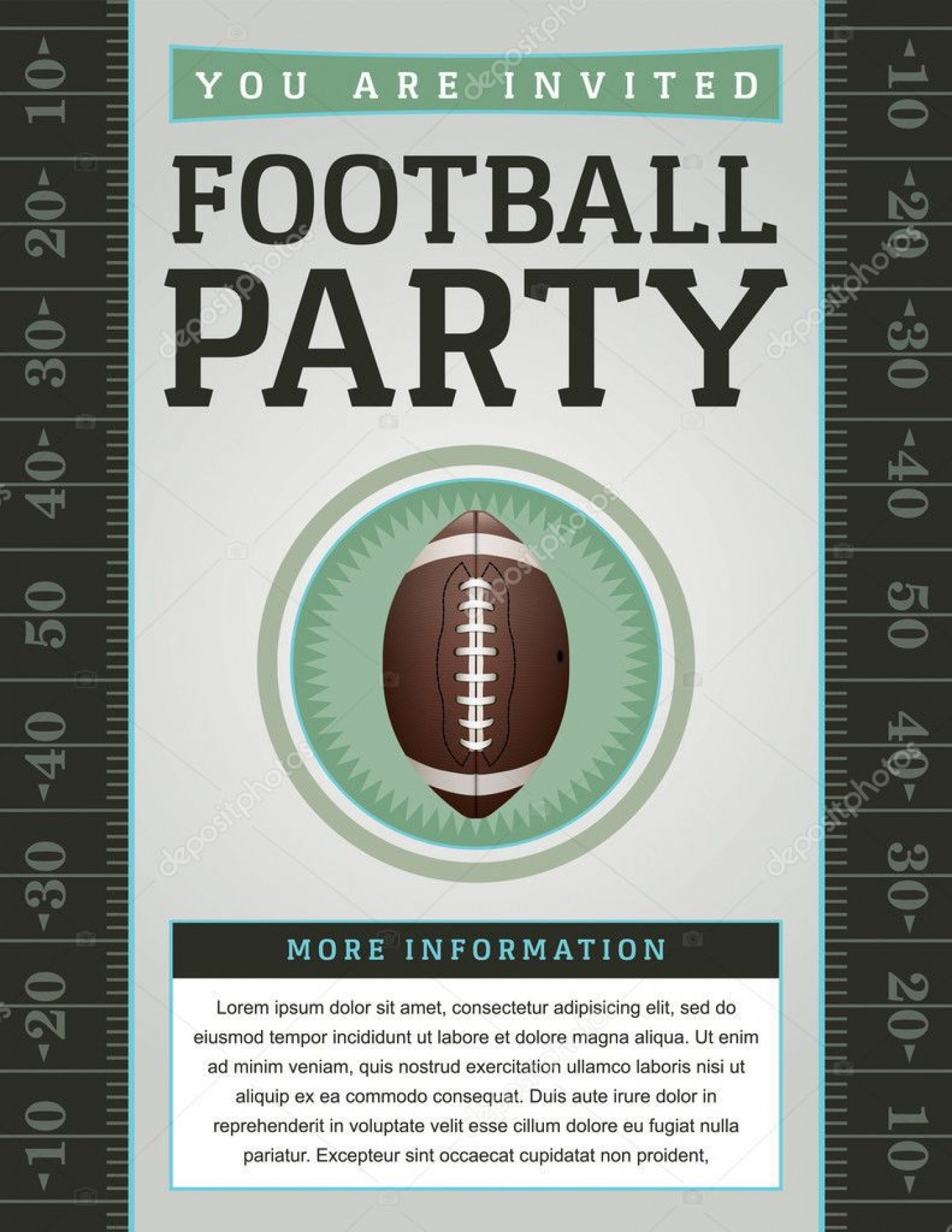 007 Beautiful Free Tailgate Party Flyer Template Download Photo 1400