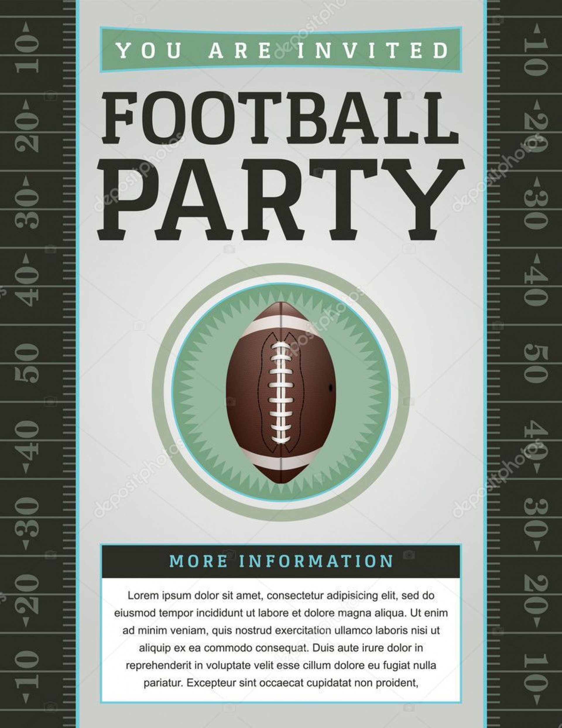 007 Beautiful Free Tailgate Party Flyer Template Download Photo 1920