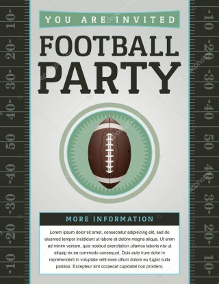 007 Beautiful Free Tailgate Party Flyer Template Download Photo 320