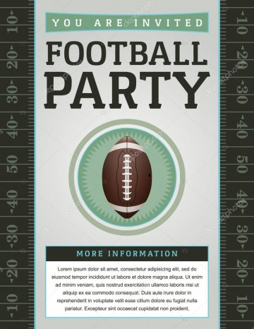 007 Beautiful Free Tailgate Party Flyer Template Download Photo 360