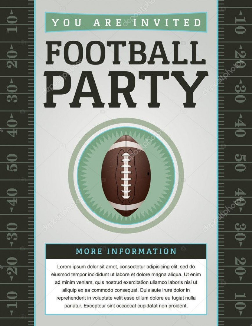007 Beautiful Free Tailgate Party Flyer Template Download Photo 868