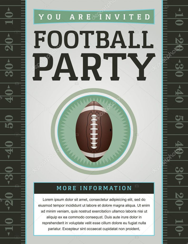007 Beautiful Free Tailgate Party Flyer Template Download Photo Full