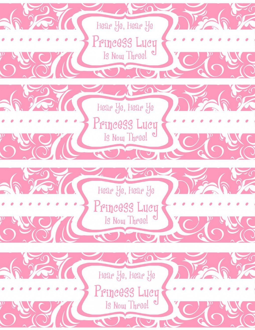 007 Beautiful Free Wedding Template For Word Water Bottle Label Highest Quality  LabelsLarge