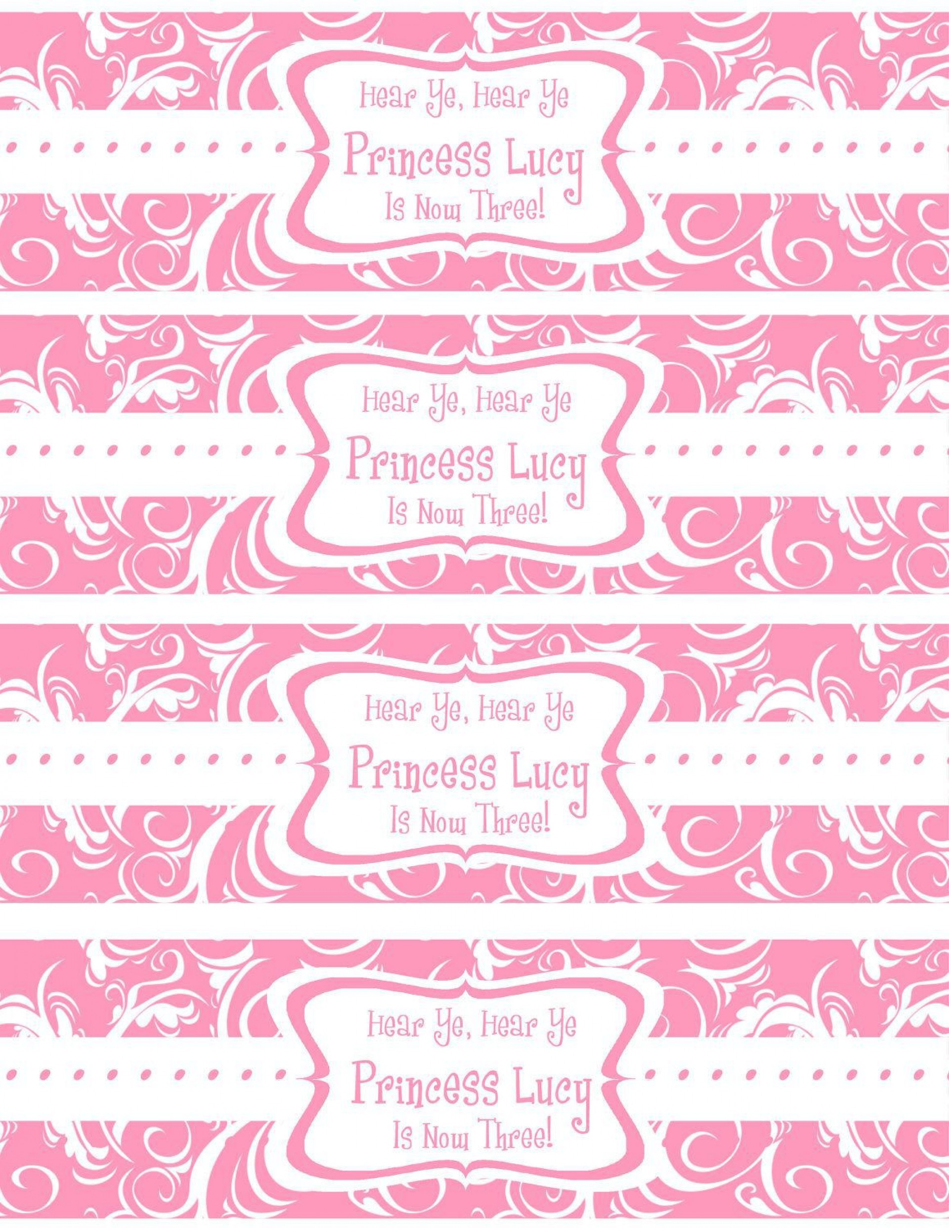 007 Beautiful Free Wedding Template For Word Water Bottle Label Highest Quality  Labels1920